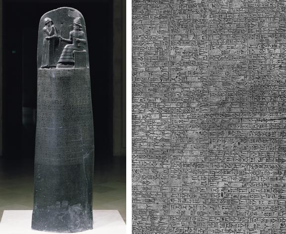 The Code of Hammurabi vs  the Law of MosesStele With Law Code Of Hammurabi